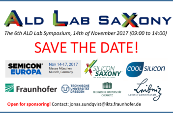 SEMICON ALD Lab Symposium 2017